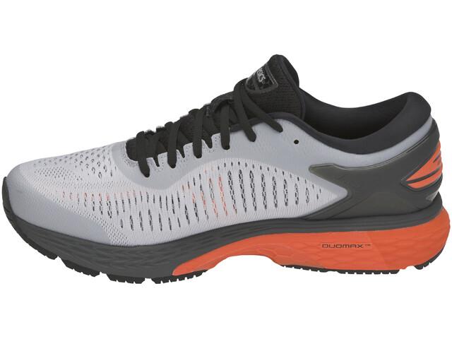 99b3f0f1043 asics Gel-Kayano 25 - Zapatillas running Hombre - gris rojo